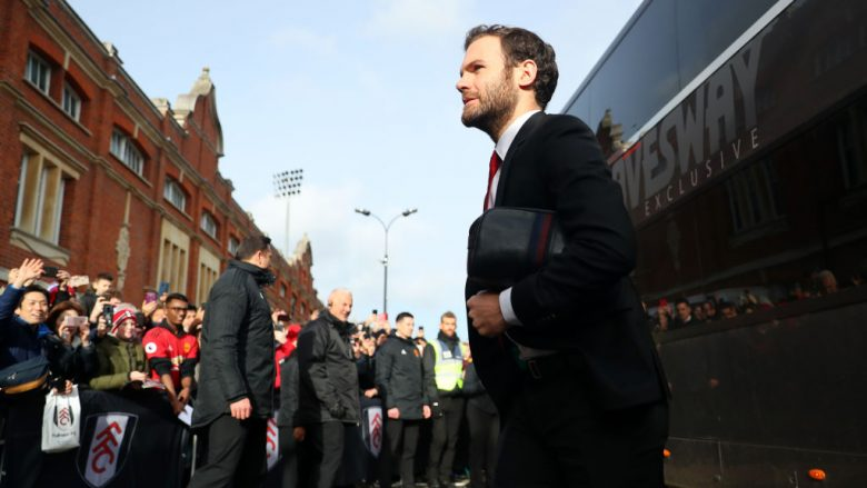 Juan Mata .  (Photo by Catherine Ivill/Getty Images)