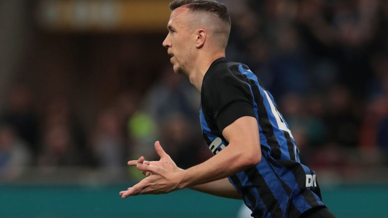 Ivan Perisic.  (Photo by Emilio Andreoli/Getty Images)