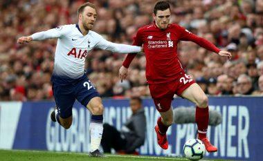 Fakte interesante rreth ballafaqimeve mes Tottenhamit dhe Liverpoolit