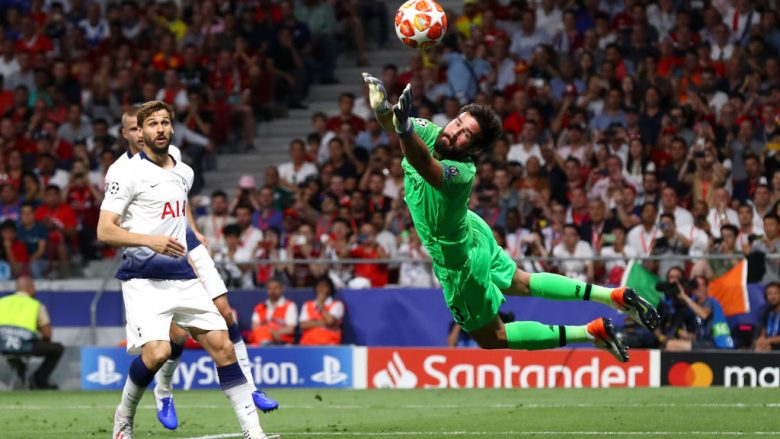 Alisson Becker (Foto: Clive Rose/Getty Images/Guliver)