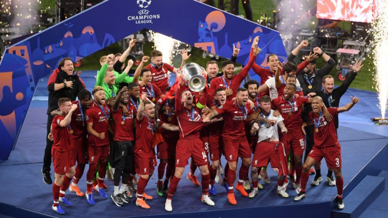 Liverpool, fitues i Ligës  së Kampionëve . (Photo by Mike Hewitt/Getty Images)