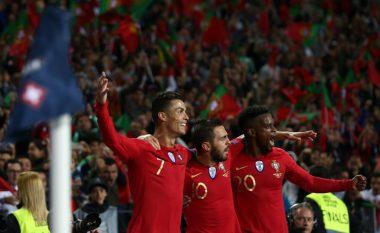 Ronaldo e dërgon Portugalinë në finale të Ligës së Kombeve – dhuron spektakël duke shënuar tre gola ndaj Zvicrës