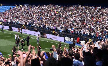 Hazard prezantohet në Bernabeu, por tifozët kërkojnë transferimin e Mbappes