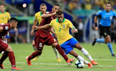 Brazili nuk arrin të triumfojë, barazon me Venezuelën