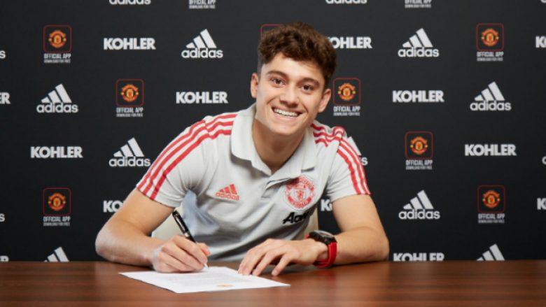 Daniel James duke e nënshkruar kontratën (Foto: manutd.com)