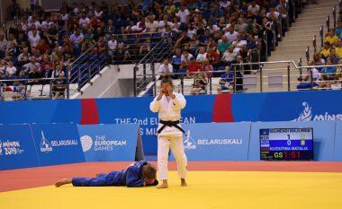Shijojeni edhe një herë përballjen e plotë dhe triumfin e Majlinda Kelmendit në finale ndaj ruses Kuziutina