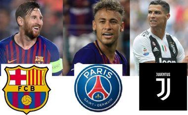 Instituti i statistikave CIES raporton për Top 20 lojtarët më të vlefshëm në pesë kampionatet kryesore