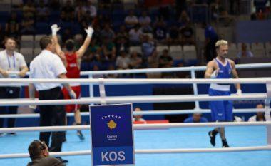 Boksieri Patriot Behrami mposht bindshëm italianin Mangiacapre, kalon në çerekfinale të Minsk 2019