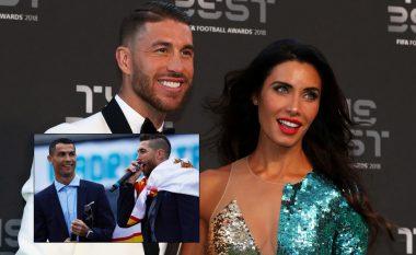 Ramos fton në dasmë Piquen, Beckhamin dhe shumë kolegë - por jo edhe Ronaldon