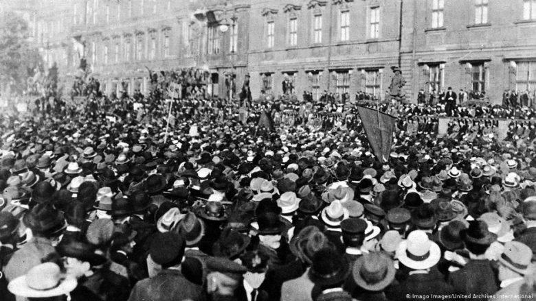 Protesta në Berlin (1919), kundër Traktatit të Versajës