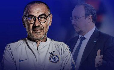 Benitez pritet të kalojë te Chelsea për ta liruar kështu Sarrin t'i bashkohet Juventusit