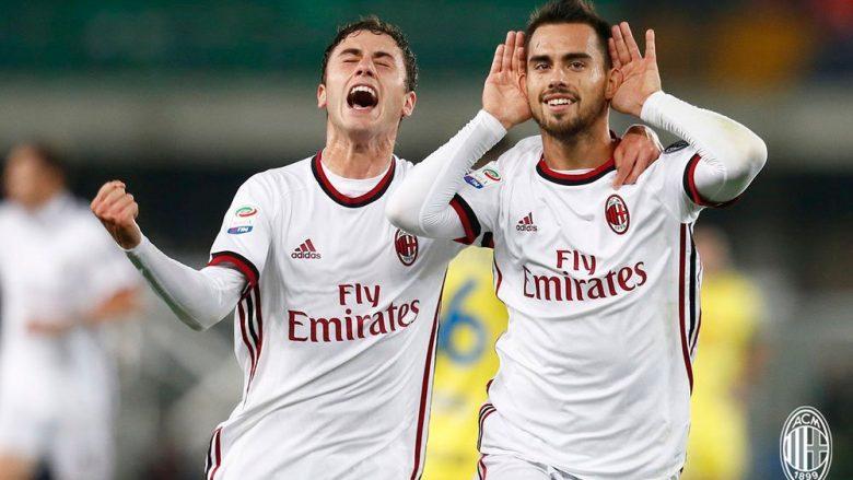 Calabria dhe Suso (Foto: AC Milan/Twitter)
