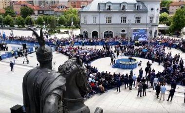 Përfundon ceremonia zyrtare për shënimin e 20 vjetorit të hyrjes së trupave të NATO-s në Kosovë (Foto/Video)