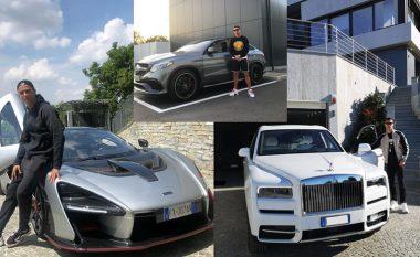 Koleksioni i jashtëzakonshëm i veturave të Ronaldos, disa prej tyre kanë vlera milionëshe