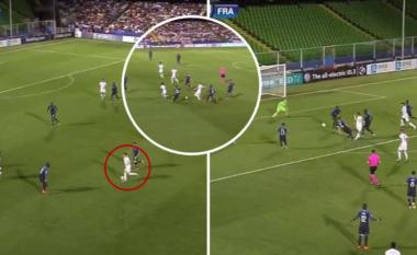 Anglia humbi nga Franca, por të gjithë po flasin për golin e shënuar 'alla Messi' të Phil Foden
