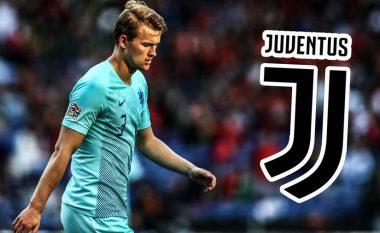 Juventusi e ka bërë ofertën e parë zyrtare në drejtim të Ajaxit për De Ligt