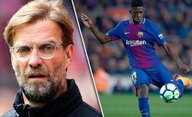 Liverpooli shihet si favorit për ta transferuar Dembelen