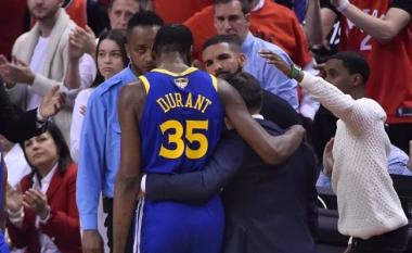 Kevin Durant sërish lëndohet, përfundon sezonin në NBA?