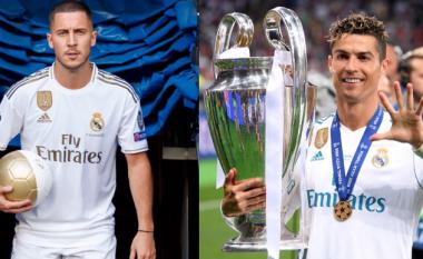 Morientes tifozëve të Realit: Mos e krahasoni Hazardin me Ronaldon, CR7 është i pazëvendësueshëm