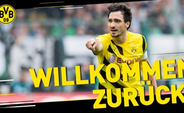 Zyrtare: Hummels rikthehet te Dortmundi