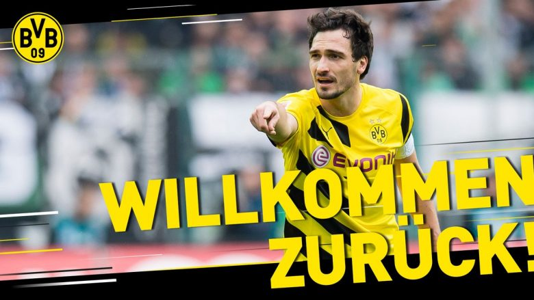 Mats Hummles (Foto: Borussia Dortmund/Twitter)