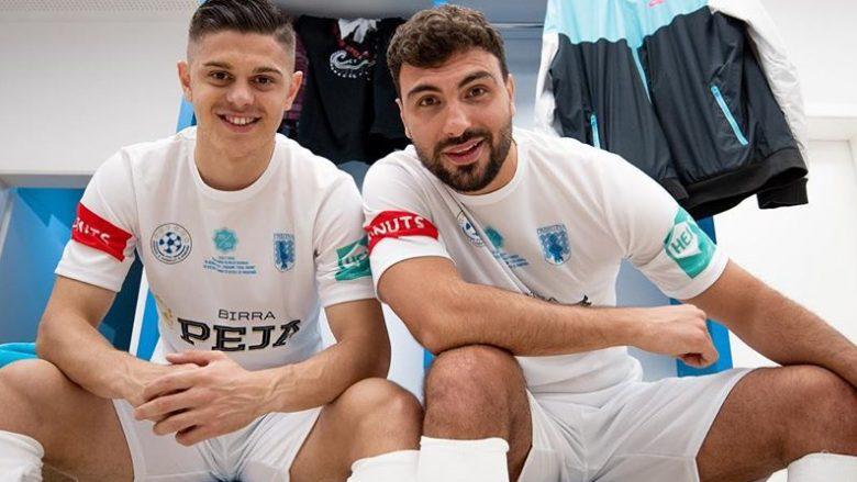 Milot Rashica dhe Ledri Vula (Foto: Instagram/ledrivula)