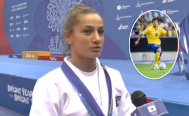 Majlinda Kelmendi: Medaljen e artë ia dedikoj një personi të veçantë, tezakut të ndjerë Labinot Harbuzi