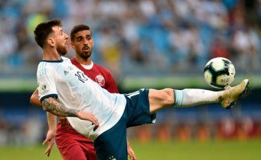 Argjentina vuan, por kalon në çerekfinale të Kupës së Amerikës së bashku me Kolumbinë
