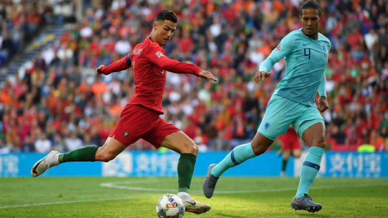 Portugalia vs Holanda (Foto: UEFA Nations League/Twitter)