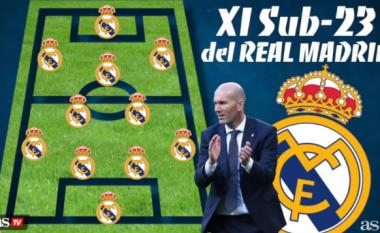 Real Madridi i së ardhmes, formacioni U-23 që mund të konkurrojë me të mëdhenjtë e Evropës