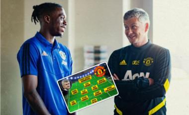 Formacioni i mundshëm i Unitedit për sezonin e ri pas afrimit të Wan-Bissakas dhe transferimeve tjera të mundshme
