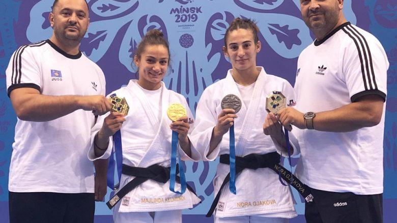 Driton Kukak, Majlinda Kelmendi, Nora Gjakova dhe Agron Kuka (Foto: Driton Kuka/Facebook)