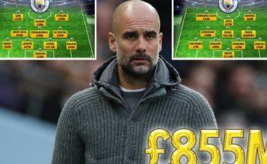 Tri blerje të reja, vlera e skuadrës një miliard euro – Pep Guardiola tani ka dy super formacione te Manchester City