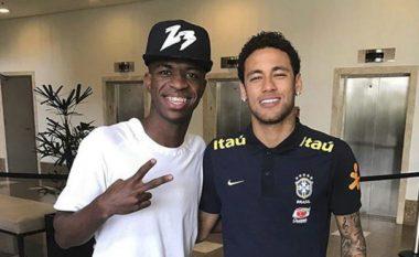 Vinicius Jr: Neymar dhe Ronaldinho janë idhujt e mi