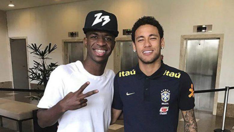 Vinicius dhe Neymar (Foto: Marca.com)