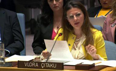 Çitaku në OKB flet për operacionin e policisë në veri, kërkon hetim për diplomatin rus që vendosi barrikada në rrugë