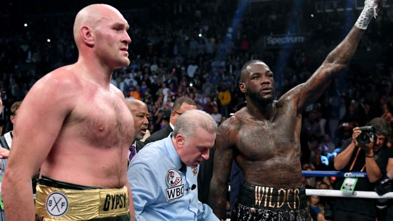 Tyson Fury dhe Deontay Wilder  (Foto: Harry How/Getty Images/Guliver)
