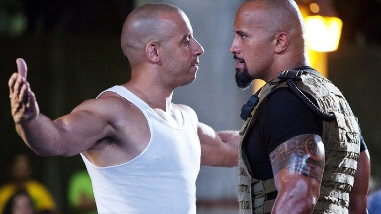 1. Dwayne Johnson dhe Vin Diesel