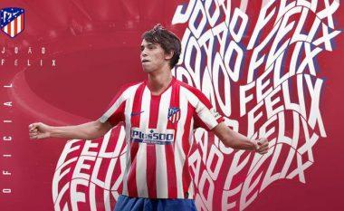Zyrtare: Joao Felix te Atletico Madridi, blerja më e shtrenjtë në histori