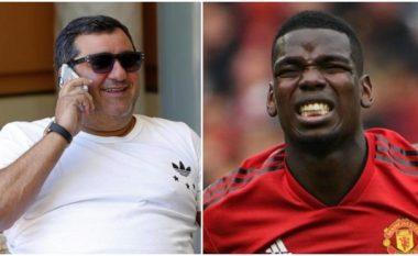 Raiola: Të gjithë në Manchester United e dinë që Pogba dëshiron të largohet