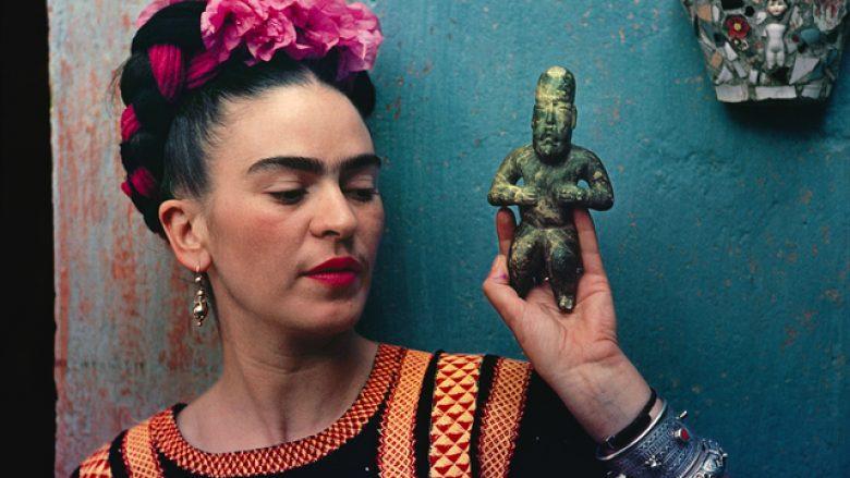 Frida me figurën olmeke, 1939