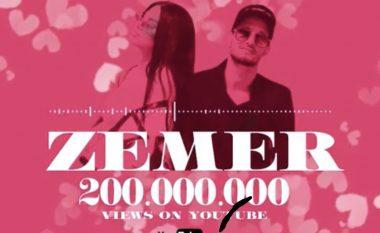 """Arrin 200 milionë - """"Zemër"""" nga Dhurata Dora konfirmohet si mega hiti ndërkombëtar që theu rekorde"""