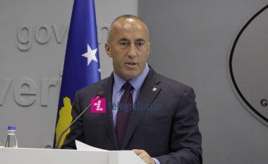 Haradinaj komenton vizitën e Presidentit Macron në Beograd