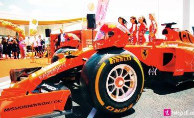 SHELL Kosova sjell për herë të parë në Kosovë, Formula 1 Scuderia Ferrari