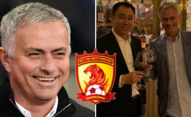 Jose Mourinho në takim me njeriun më të pasur në Kinë –spekulime se mund ta merr drejtimin e Guangzhou Evergrande që është në pronësi të Kan Ya