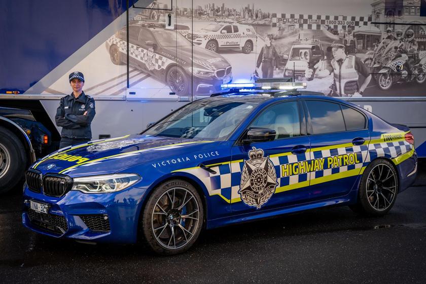 BMW M5 Competition kthehet në makinë policie  e gatshme për aksion