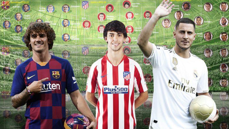 Messi, Joao Felix dhe Hazard Foto: Marca.com