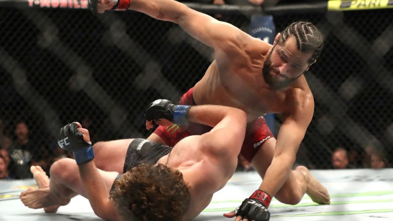 Jorge Masvidal dhe Ben Askren (Foto: Sean M. Haffey/Getty Images/Guliver)