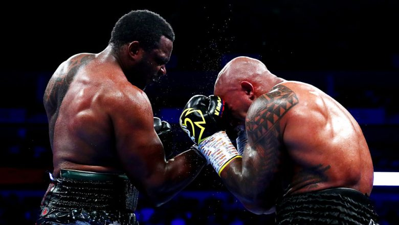 Dillian Whyte dhe Oscar Rivas (Foto: Dan Istitene/Getty Images/Guliver)