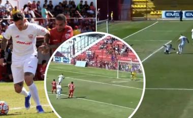 Portieri i Man Cityt në stilin e super-sulmuesit, Ederson shënon dy gola në një ndeshje bamirësie